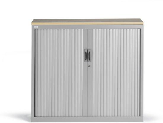 Schoenenrek 120 Cm.Bol Com Roldeurkast Proline 105 X 120 Cm Incl 1 Legbord Aluminium