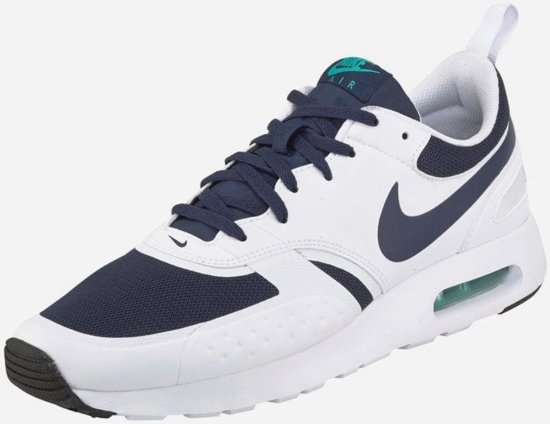 nike air max wit blauw