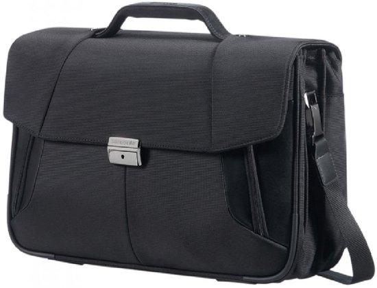Samsonite XBR Laptops aktetas 15.6 inch Zwart