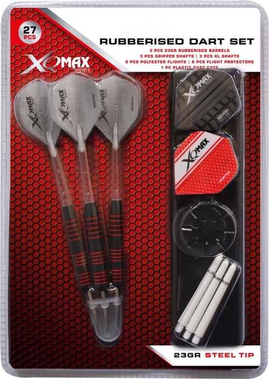 XQ Max Darts QD7000660 Dartpijl-Unisex-Maat--Rood
