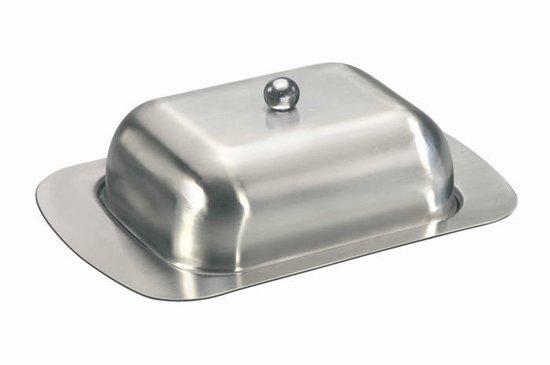 Mato Rvs Botervloot 18 Cm Zilver