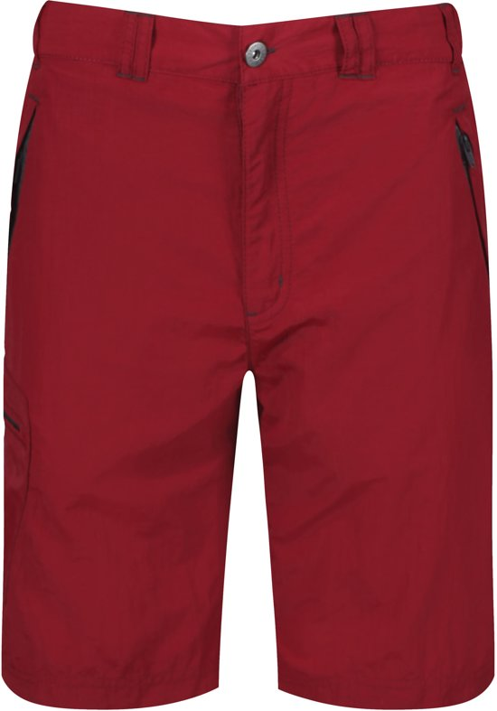 Regatta Leesville Short Outdoorbroek - Heren - Rood