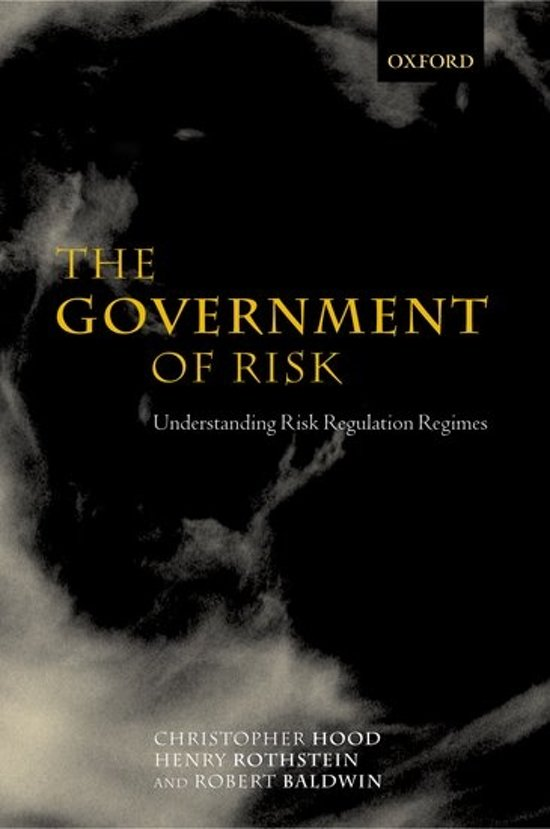 The Government of Risk