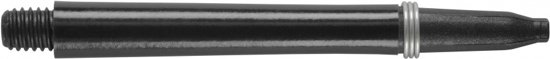 Harrows darts Nylon spring shaft zwart midi 3 stuks