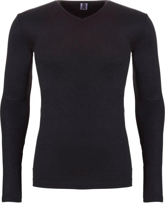 Ten Cate Heren Thermo V-Shirt Longsleeve Zwart