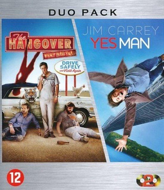DVD cover van HANGOVER, THE+YES MAN /S BD BI