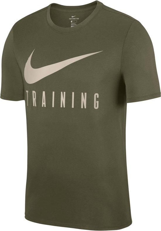 Nike Train Mannen Tee M SportshirtMaat Olijfgroen Dry 7fYyIb6vg