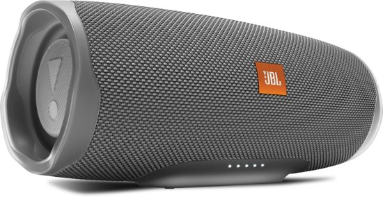 JBL Charge 4 - Bluetooth Speaker - Grijs