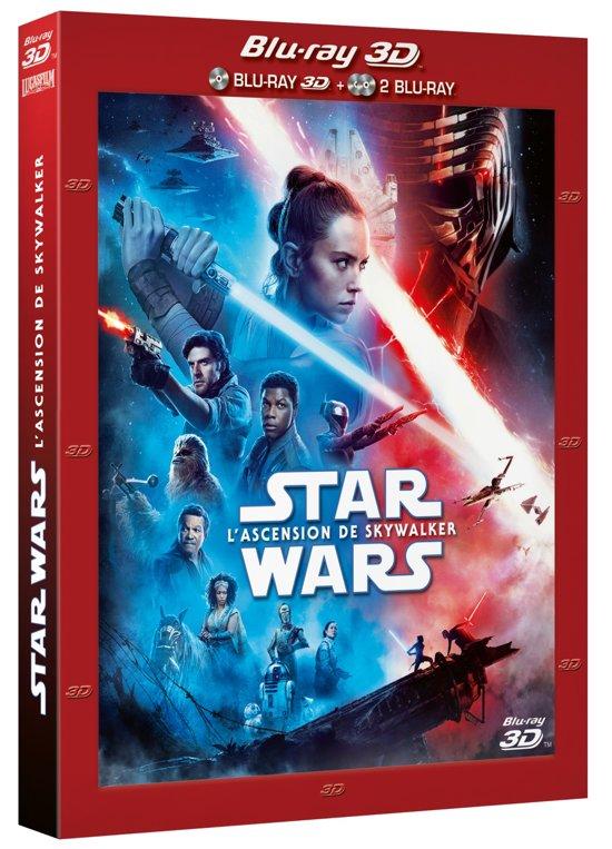 DVD cover van Star Wars Episode IX: The Rise of Skywalker (3D Blu-ray)