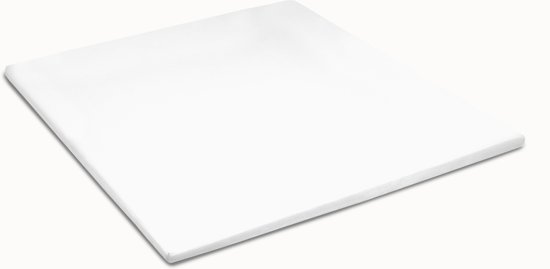 Cinderella - Hoeslaken voor toppers - 180x200/210cm - Wit