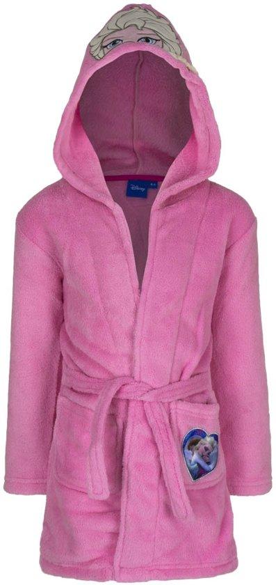 9dda0b07d47e4e bol.com | Disney Frozen badjas - roze - 5 jaar (110)