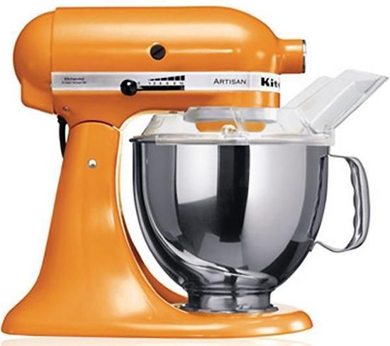 kitchenaid artisan 5ksm150psetg keukenmachine oranje. Black Bedroom Furniture Sets. Home Design Ideas