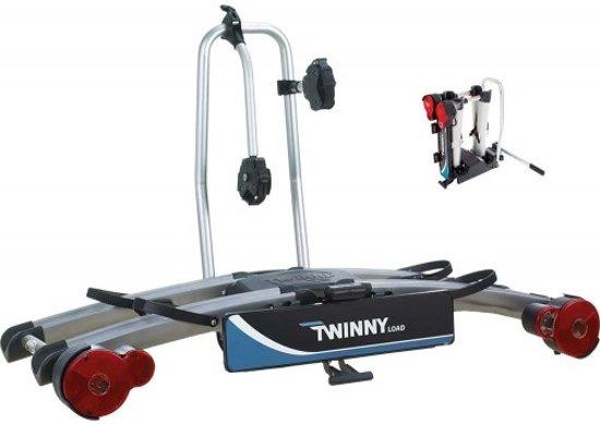 Twinny Load eWing Fietsendrager - 2 Fietsen - Trekhaak - 13 Polig - Opklapbaar