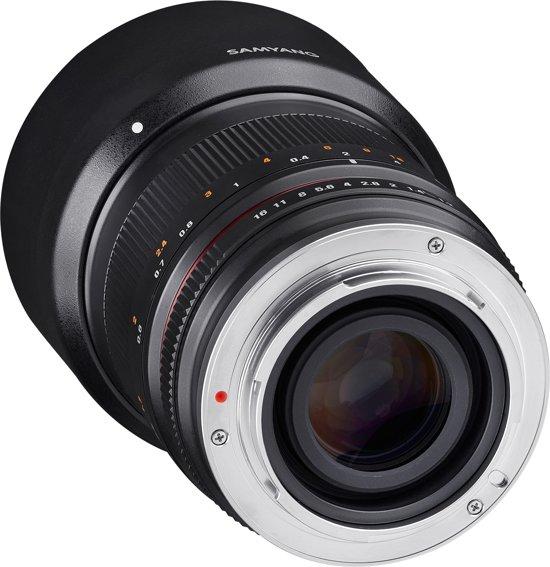 Samyang 50mm F1.2 As Umc Cs - Prime lens - geschikt voor Fujifilm X - zwart