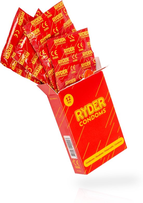 Ryder Condooms - 12 Stuks