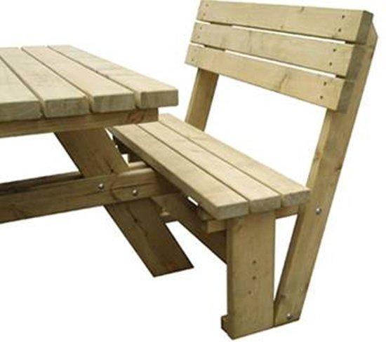Rugleuning 110 cm voor luxus picknicktafels Rondo, Rounded en Jumbo