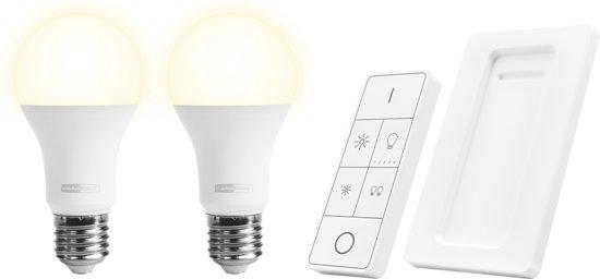 klikaanklikuit draadloze dimbare led lampen met afstandsbediening aled2 2709r nl