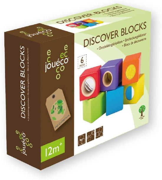 Jouéco Ontdekkingsblokken 6 stuks - Blokken