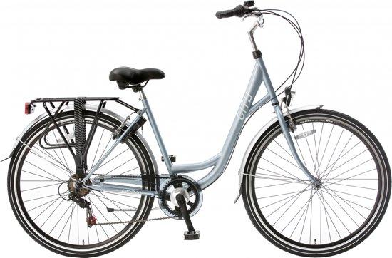 Licht Voor Fiets : Bol.com popal city fiets vrouwen licht blauw 57 cm