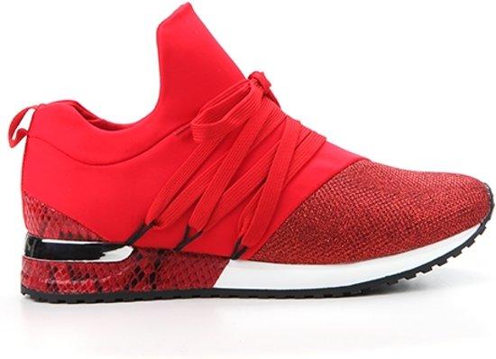 b50159c300c bol.com | La strada sneaker - Dames - Maat: 37 - rood