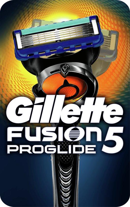 Gillette Fusion ProGlide met Flexball Technologie Scheersysteem + 1 Scheermesje - Scheermes in Kippereind