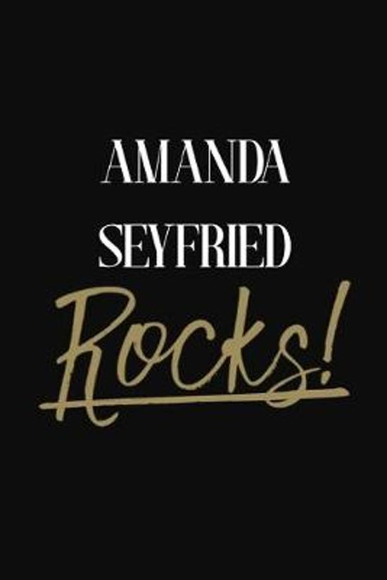 Amanda Seyfried Rocks!: Amanda Seyfried Diary Journal