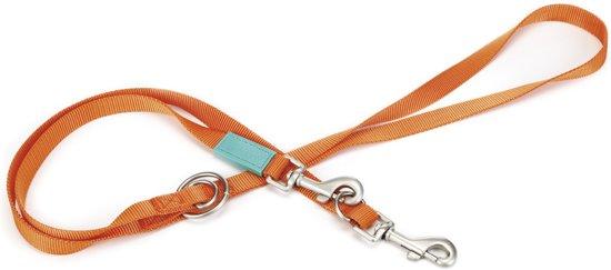 Beeztees Uni - Hondenriem - Oranje - 200 cm x 20 mm