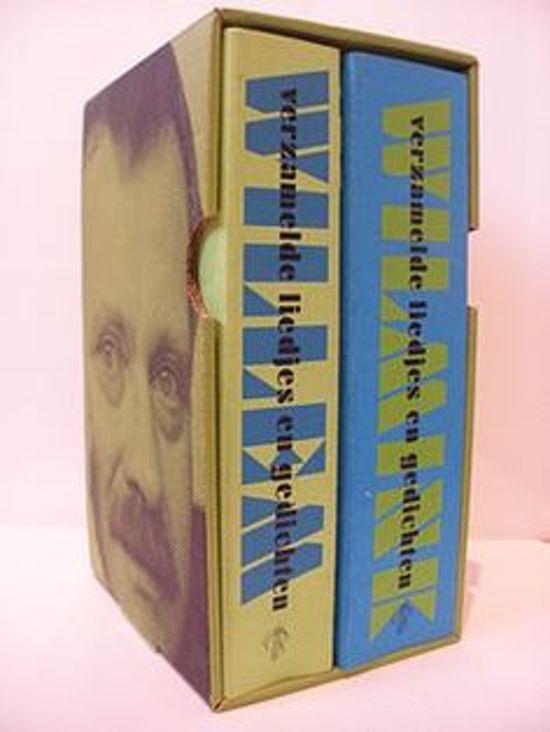 Boek cover Willem Wilmink verzamelde liedjes en gedichten set van Willem Wilmink (Paperback)