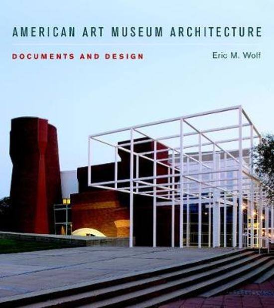 Bolcom American Art Museum Architecture 9780393732801 Eric M