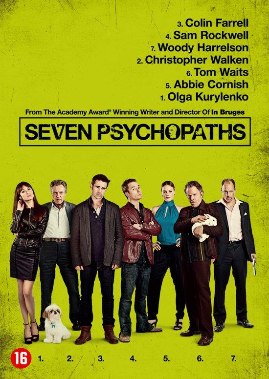 DVD cover van Seven Psychopaths