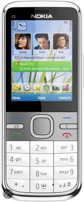 Nokia C5-00.2 5MP  GSM - White