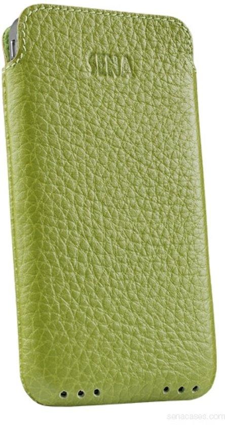 Sena UltraSlim Pouch iPhone 4 & 4S Lederen Sleeve Groen in Cuesmes