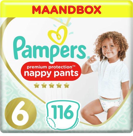 Pampers Premium Protection Luierbroekjes - Maat 6 - 116 Stuks