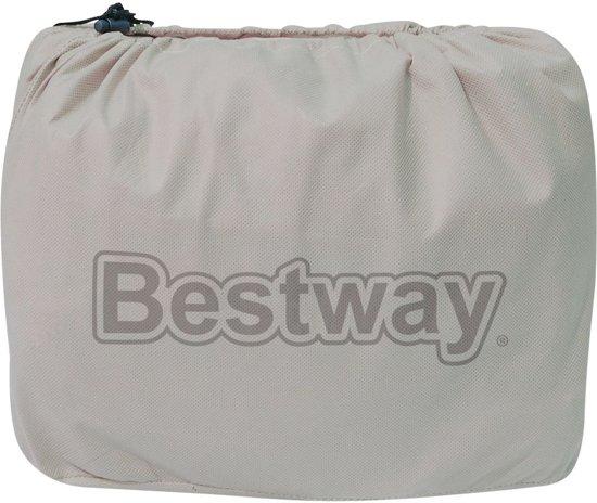 Bestway Luchtbed Essence Fortech Queen 203x152x51 cm beige