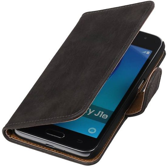 Wicked Narwal | Bark bookstyle / book case/ wallet case Hoes voor Samsung Galaxy Prime G530F Grijs