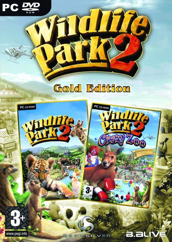 Wild Life Park 2: Gold & Crazy Zoo - Windows
