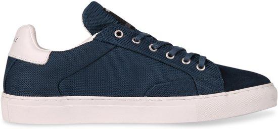 66243ffb711 bol.com | Replay - Heren Sneakers Bemd - Blauw - Maat 40