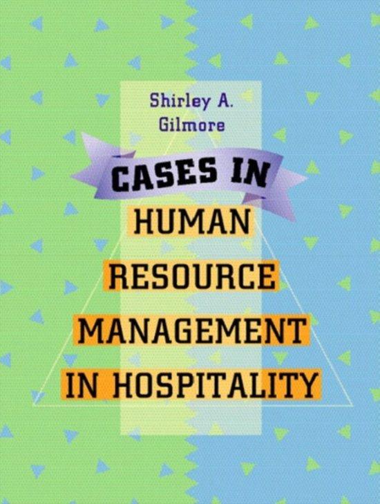 case 6 1 human resource management