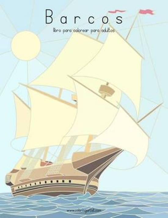 bol.com | Barcos Libro Para Colorear Para Adultos 1, Nick Snels ...