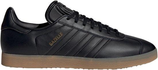 adidas Gazelle Heren Sneakers - Core Black/Core Black/Gum 3 - Maat 45 1/3