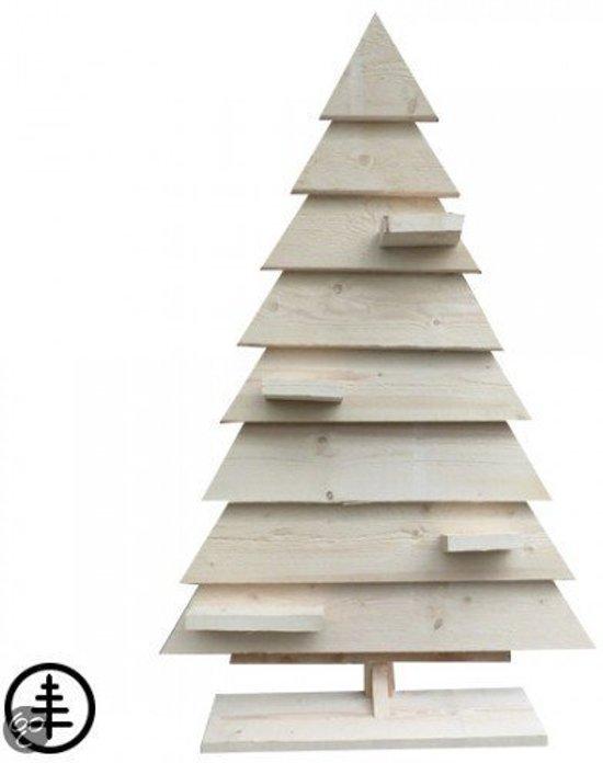 Houten kerstboom steigerhout bouwpakket for Houten tuinkast intratuin
