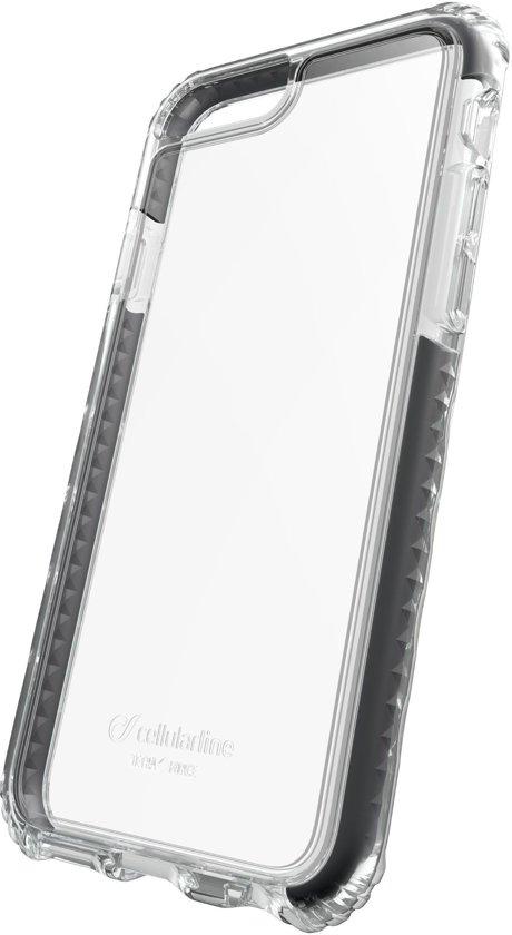 Cellularline 37805 mobiele telefoon behuizingen 11,9 cm (4.7'') Hoes Zwart, Transparant