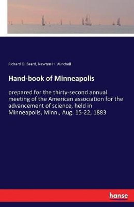 Hand-Book of Minneapolis