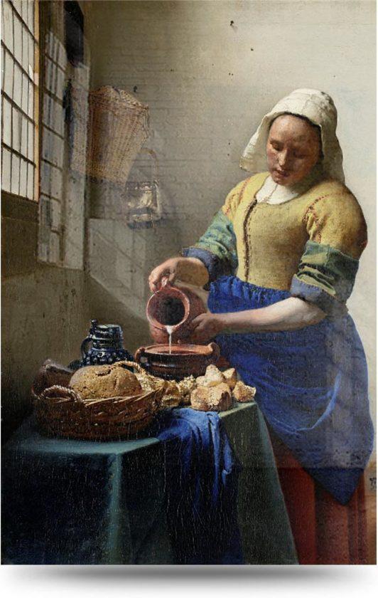 het melkmeisje van vermeer