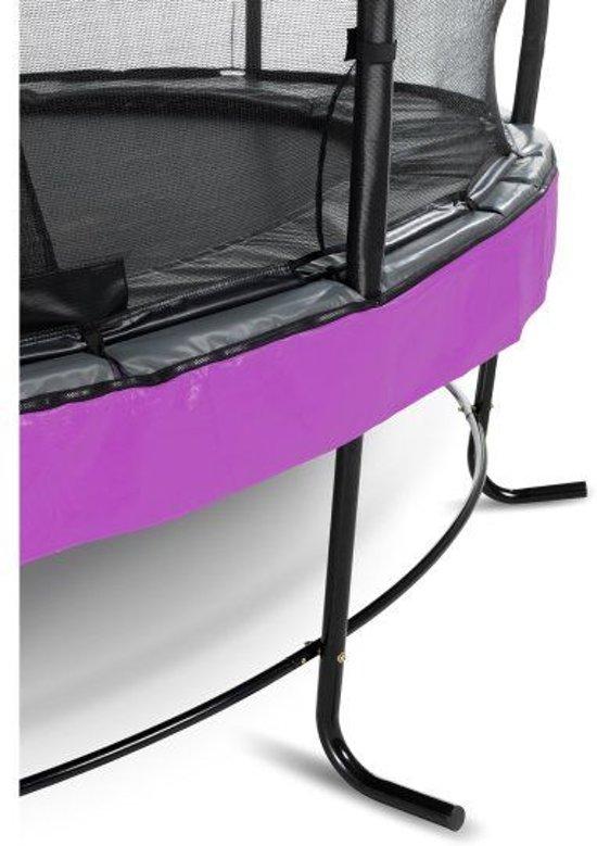 EXIT Elegant Trampoline à 253 cm met Deluxe Veiligheidsnet