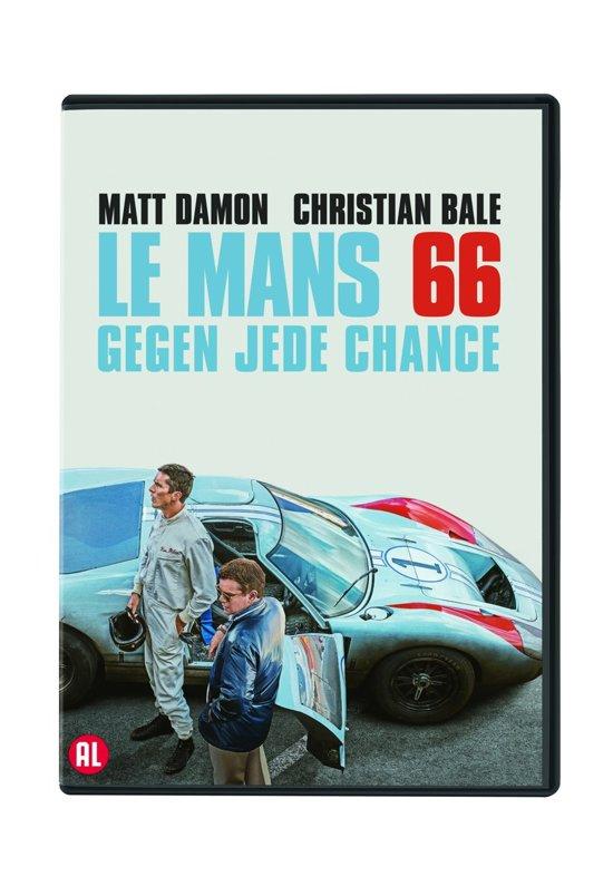 DVD cover van Ford v Ferrari (Le Mans 66)