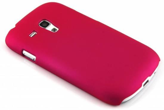 Fuchsia Étui Rigide Clair Pour Samsung Galaxy S4 9zUqURI8d