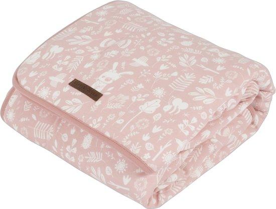 Little Dutch Ledikantdeken pure & soft - adventure pink