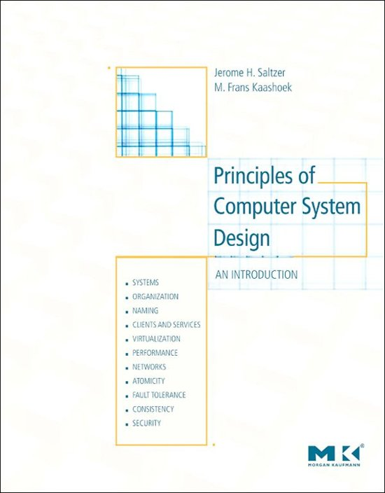 Principles of Computer System Design