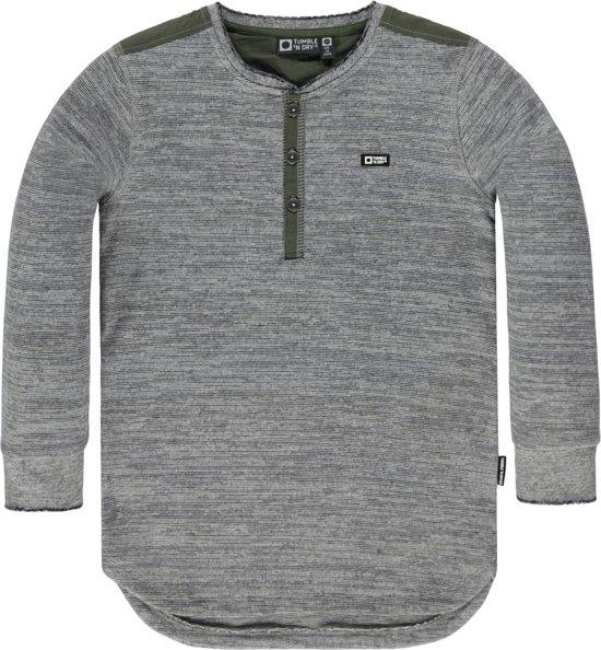 4f9cfc90b2a bol.com | Tumble 'N Dry Jongens T-shirt - Grey Anthracite - Maat 122